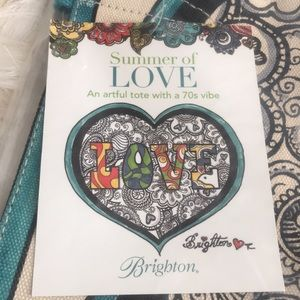 Brighton Summer Love Tote, New, Retails $100.